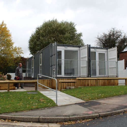 Modular Homes sited by Merthyr Valley Homes